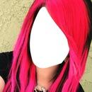 face de menina com o cabelo ros