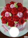 gateau de roses