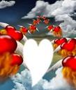 coeur dans les nuages