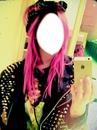 tu cabello rosa