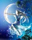 fille de la lune