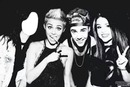 Me and Miley-Justin-Selena