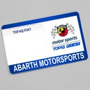 Tofaş - Fiat Abarth Motorsports Card