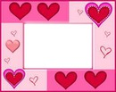 marco de corazon