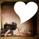 cadre enfant coeur