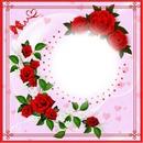 1 photo fleur rose amour iena