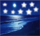plage de nuit vacances