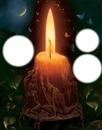 lumière de bougie
