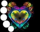 Bubble heart 5