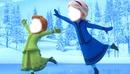 Frozen una aventura congelada Elsa y anna