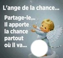 Citation ange de la chance