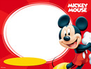 Mickey Moldura Redonda