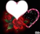 coeur avec fleur