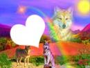 Mon monde,avec les loups ...