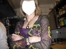 cadre visage de ma mère