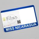 Miss Nicaragua Card