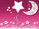 la lune dans les étoiles
