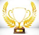 Trophée-gagnant-victoire-lauriers