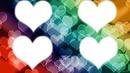 4 corazoncitos