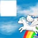peagses et hello kitty