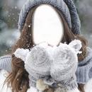 lutina rose neige