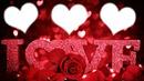 cadre photo à 3 love <3