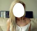 fille trop swag blonde