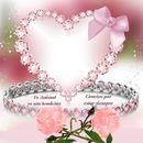 Cc corazón diamantes
