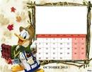 CALENDRIER PICSOU OCTOBRE 2013