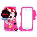 iphone case girl with a motorbike