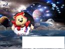 bonne nuit Lyou mascotte officiel de L'OL