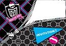Invitation Monster High