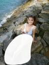 Sirène sur rocher
