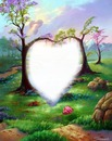 Árboles corazón