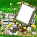Cadre de Pâques