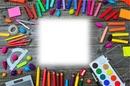 color craie crayon school dessin art
