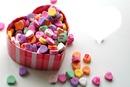 l'amour en bonbon