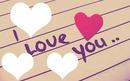 corazón I Love You ...