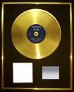 Votr visage sur un disque d'or !