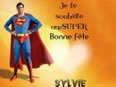 Bonne fête Sylvie
