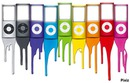 ipod nano multicolores