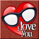 Dj CS Love Glasses