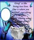 GRIEF IS LIKE