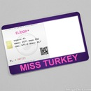 Elidor Miss Turkey Kart Mor