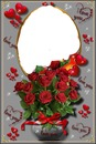 renewilly oval con rosas