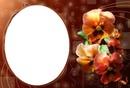 Cadre orchidée
