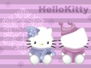hello kitty snow !