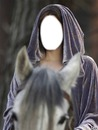 elfe à cheval