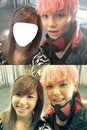 Zelo with girlfriend (YOU)