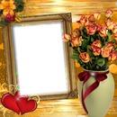 Cadre bouquet